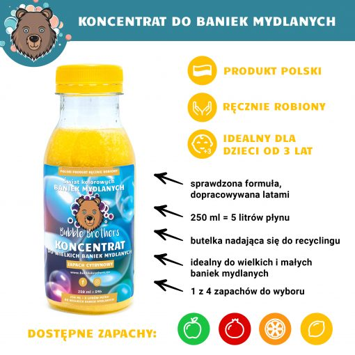 Płyn do baniek mydlanych - Bubble brothers