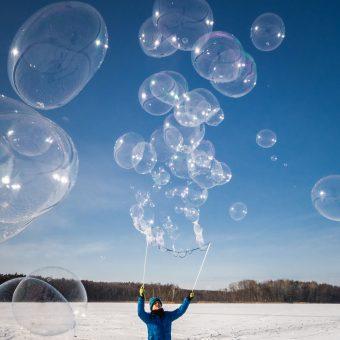Soap Bubbles in Poznań